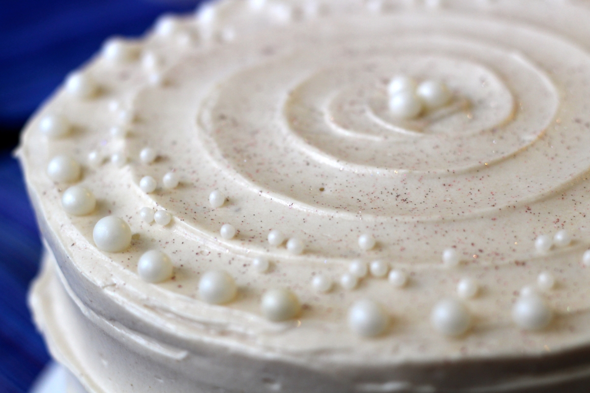Baked Sunday Mornings: Holiday Spice Cake with Eggnog Buttercream