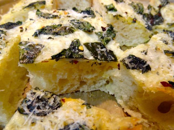 Cheesy Focaccia 10