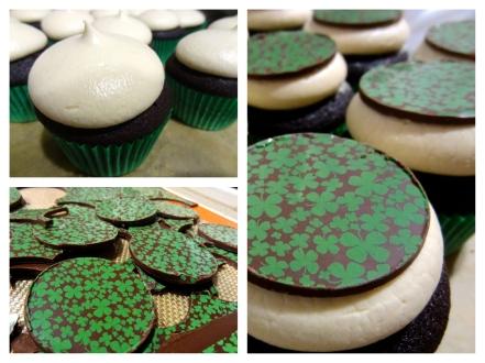 Chocolate Irish Cream Cupcakes 11