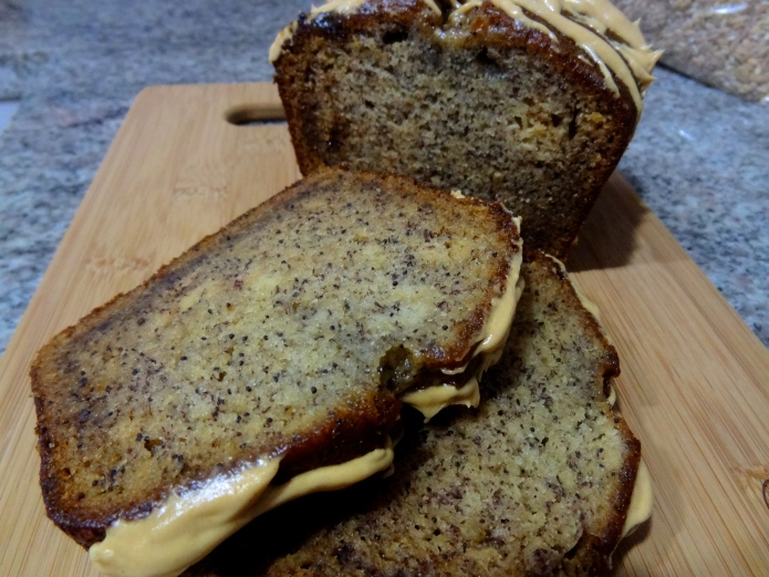 Honey Banana Poppy Seed Bread 12
