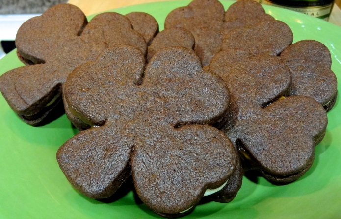 Chocolate Shamrocks 2