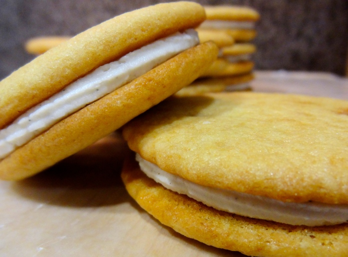 Malted Milk Sandwich Cookies 12