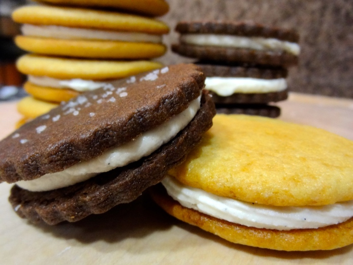 Chocolate Sandwich Cookies 2