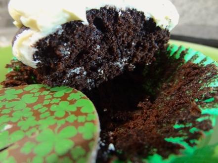 Chocolate Irish Cream Cupcakes 10