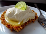 Baked Sunday Mornings: Sunrise Key Lime Tarts