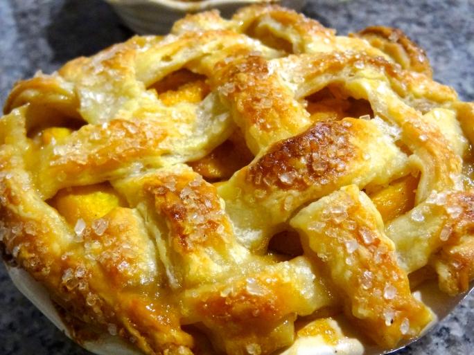 Peach-Vanilla Bean Pie - 28