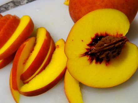 Whiskey Peach Upside-Down Cake - 03