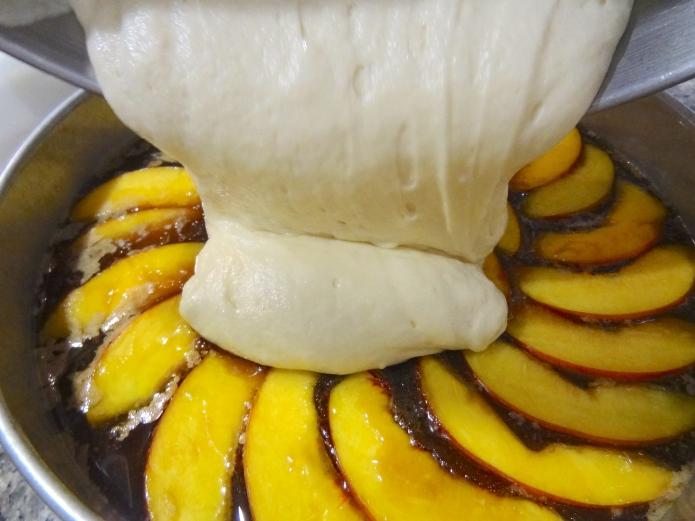 Whiskey Peach Upside-Down Cake - 22