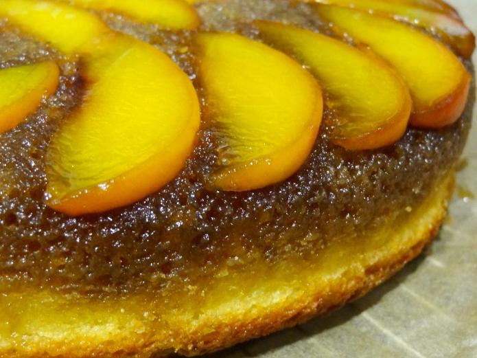 Whiskey Peach Upside-Down Cake - 26