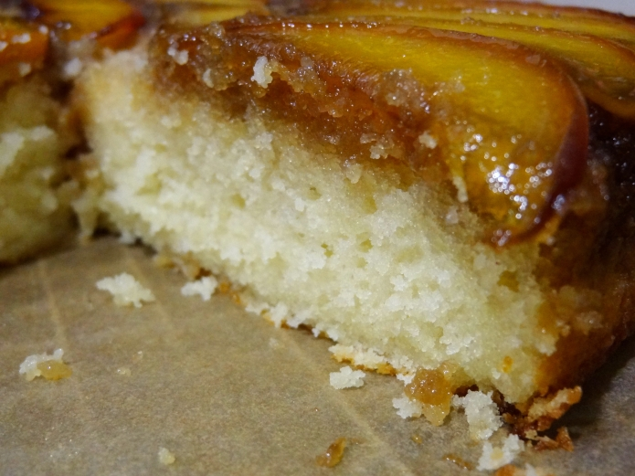 Whiskey Peach Upside-Down Cake - 29