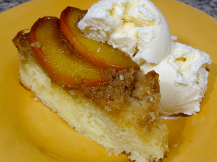 Whiskey Peach Upside-Down Cake - 31