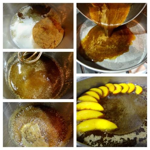 Whiskey Peach Upside-Down Cake - 32