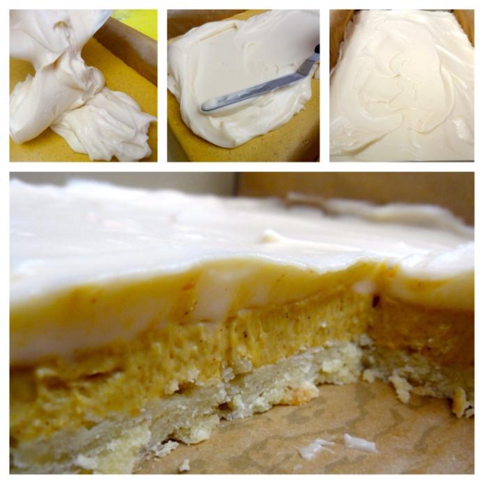 Pumpkin Cheesecake Bars - 50