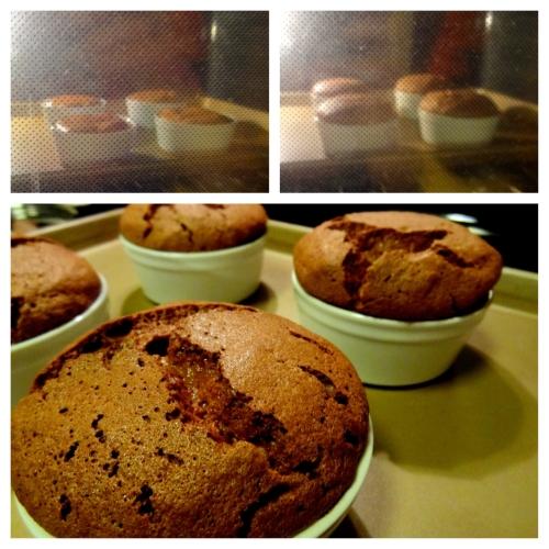 Cinnamon Chocolate Soufflés - 32