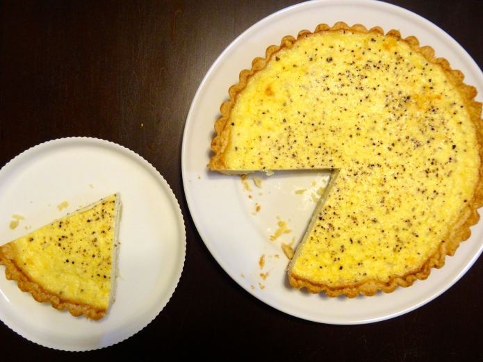 Lemon Pepper Quiche - 16