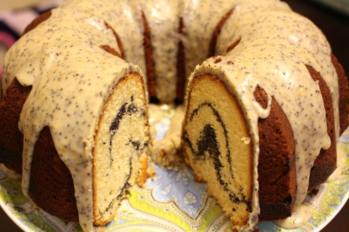 Poppy Seed Pound Cake - 02