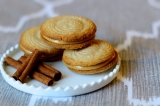 Baked Sunday Mornings: Cinnamon Spritz Sandwich Cookies