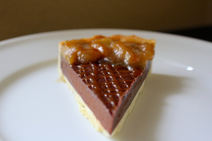 Chocolate Banana Tart - 25