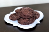 Baked Sunday Mornings: Chewy Chocolate Mint Cookies