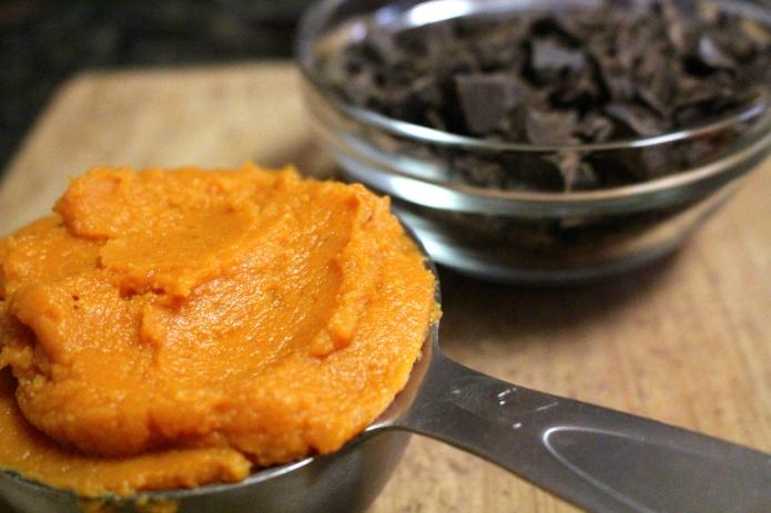 Choc Chunk Pumpkin Bread Pudding - 02