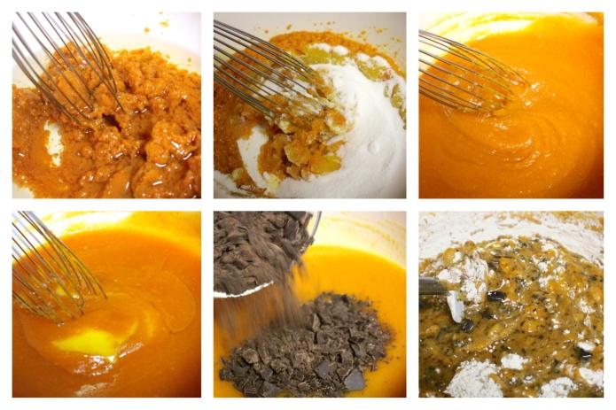 Choc Chunk Pumpkin Bread Pudding - 25