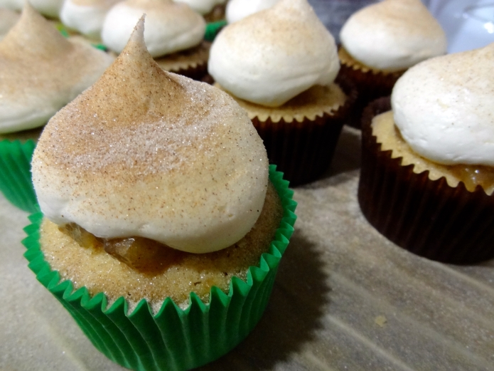 Brandy Apple Pie Cupcakes - 26