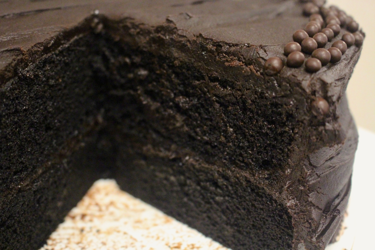 Under Cover of Darkness: Ovenly's Brooklyn Blackout Cake
