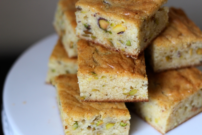 Lemon Pistachio Blondies - 24