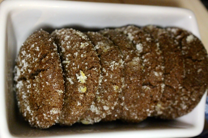 Lemon-Sugar Gingersnaps - 16