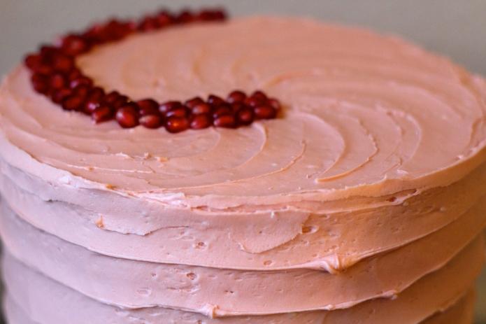 Vanilla Pomegranate Cake - 23