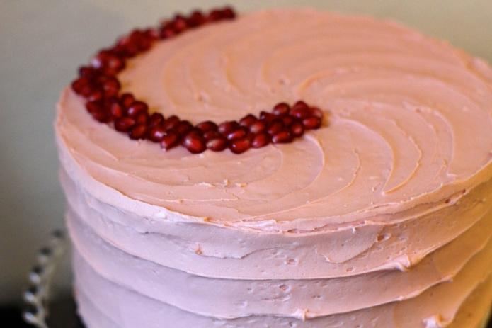 Vanilla Pomegranate Cake - 26