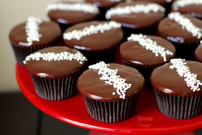 Red Wine Chocolate Cupcakes - 1