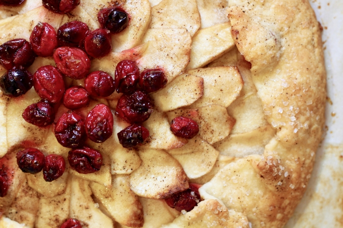 Apple Cranberry Galette - 26