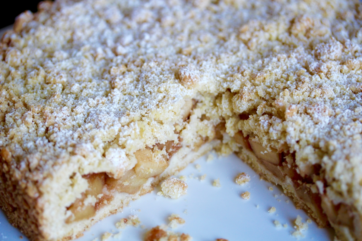 That's How the Cake Crumbles: Torta Sbriciolata alle Mele