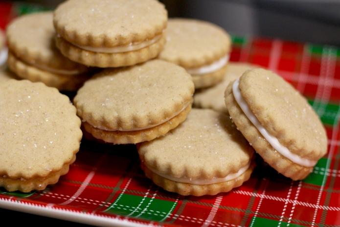 Eggnog Sandwich Cookies - 34