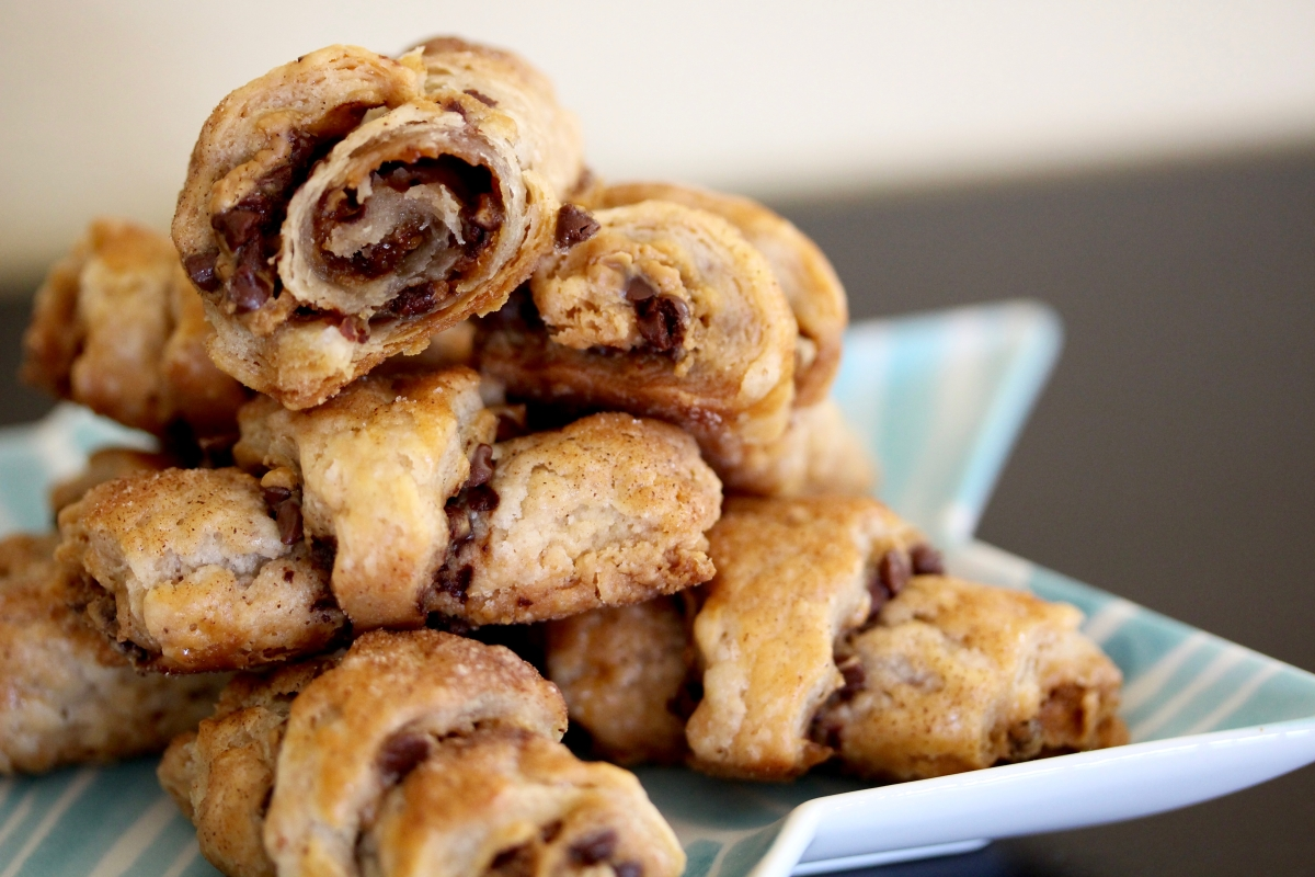 When Winter Holidays Collide: Gingerbread Speculoos Rugelach