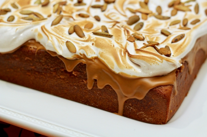 Pumpkin & Cookie Butter Sheet Cake - 32