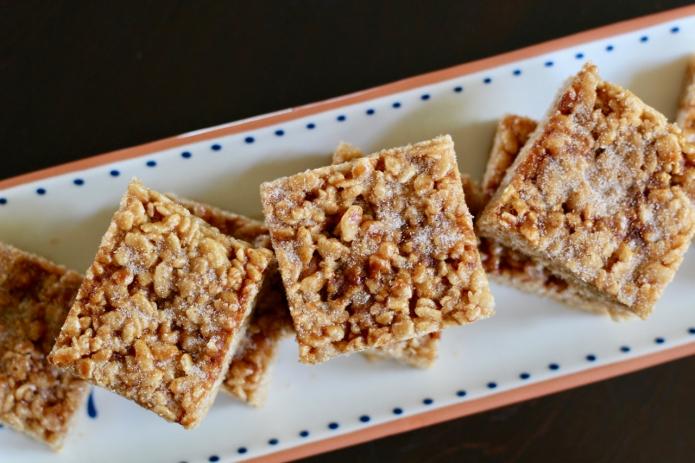Cinnamon Cajeta Rice Crispy Treats - 27