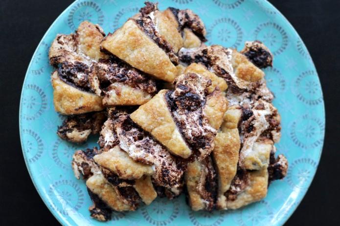S'mores Rugelach Smash Cookies - 15